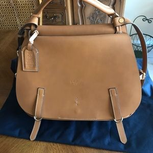 BOLDRINI ITALIAN LEATHER HANDBAG